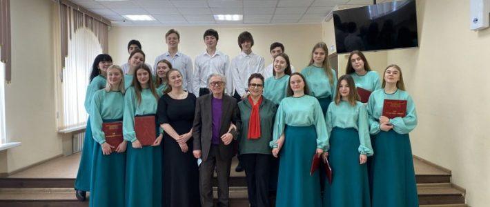Студенческий хор «Камчатского колледжа искусств»